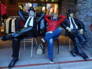Chilling with the Blues Brothers, Heavenly, CA